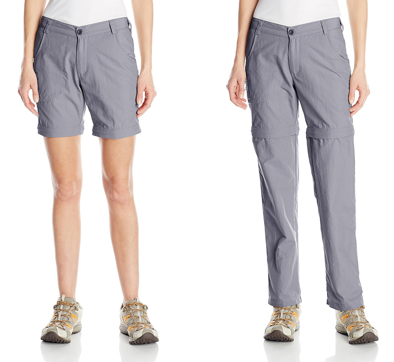White Sierra Women's Sierra Point 31-Inch Inseam Convertible Pant (Hiking Pants Women)