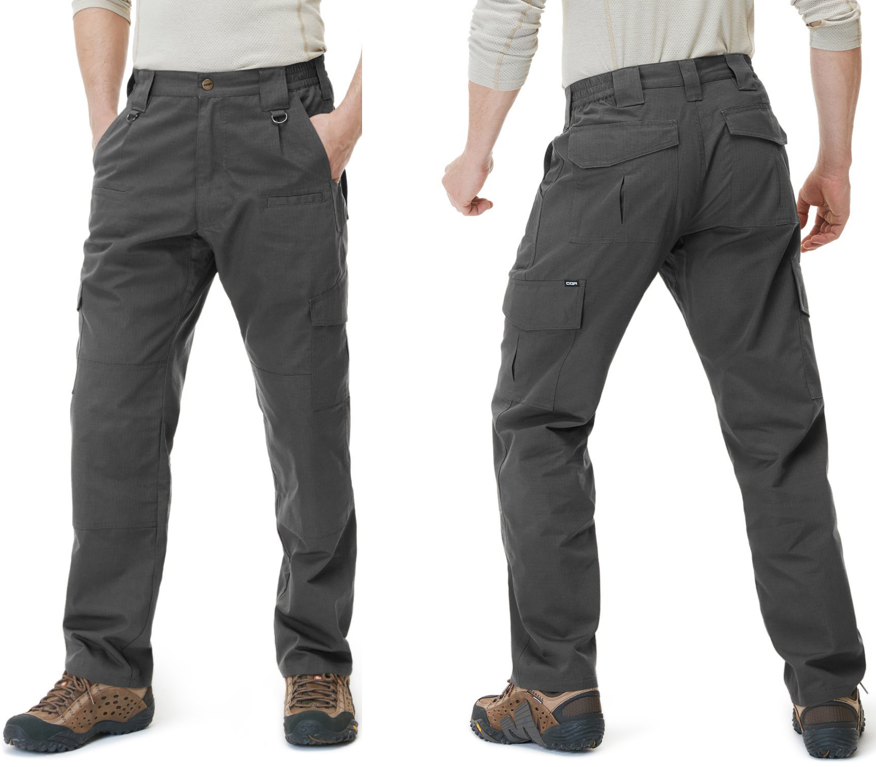 CQR Men's Tactical Pants Lightweight Assault Cargo TLP-103 / 104 (Hiking Pants Men)