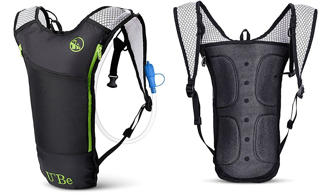 U'Be Hydration Pack for Biking Running Hiking Cycling