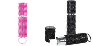 Mace Brand Rhinestone Purse Model Pepper Spray