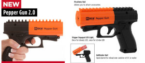 Mace Brand Police Strength Pepper Spray Pepper Gun 2.0
