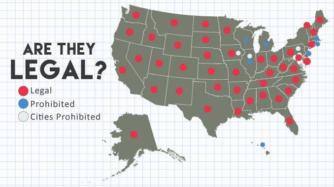 States Where Stun Guns Are Legal