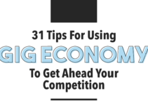 31 Tips For Using Gig Economy Infographic Header