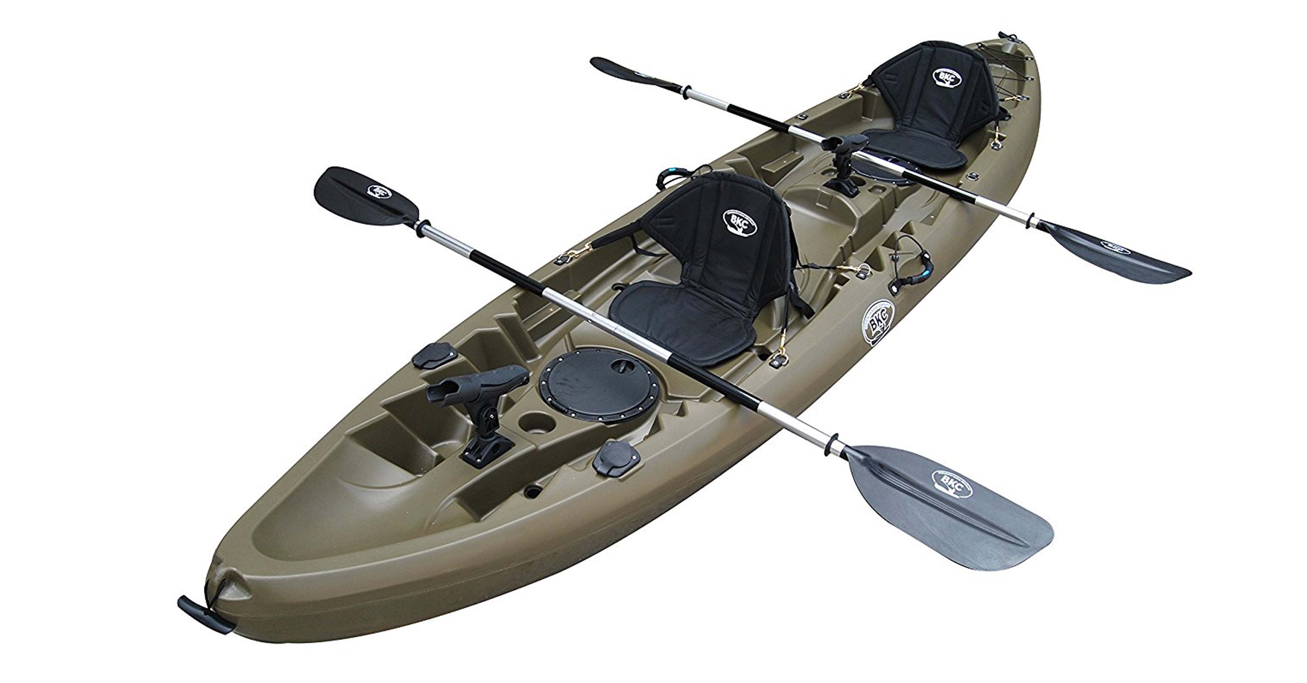 BKC UH-TK219 12-Foot Tandem Sit on Top Kayak