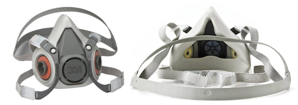 3M Half Facepiece Reusable Respirator 6300/07026(AAD), Respiratory Protection, Large