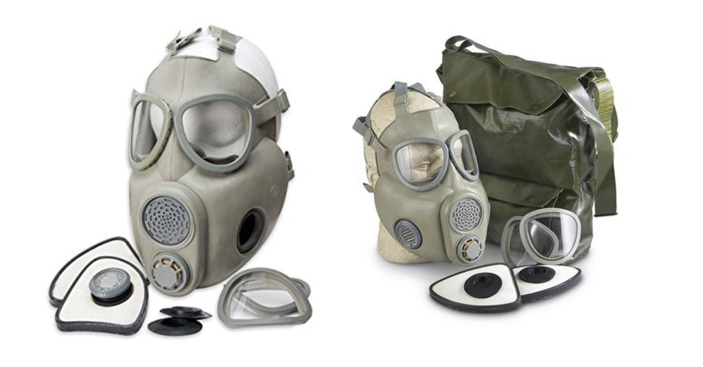 OEM Czech M10 Gas Mask with Carry Bag