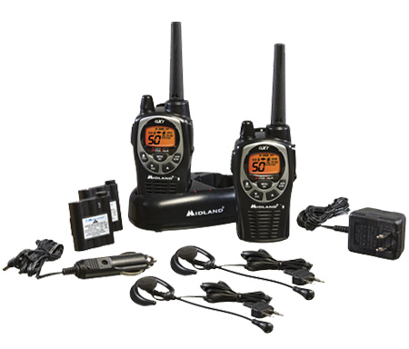 Midland GXT1000VP4, 50 Channel GMRS Two-Way Radio