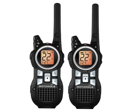 Motorola MR350R 35-Mile Range 22 Channel FRS/GMRS Two-Way Radio (Pair)