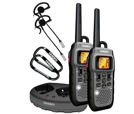 Uniden GMR5089-2CKHS Submersible 50 Mile FRS/GMRS Two-Way Radios