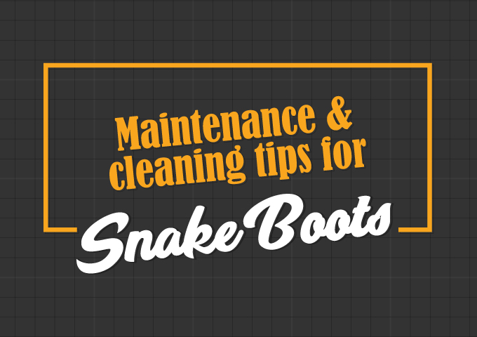 Maintenance and Cleaning Tips for Snake Boots