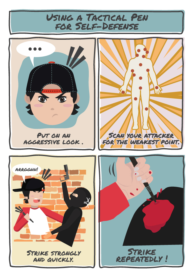 Using a Tactical Pen for Self-Defense