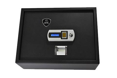 Verifi S4000 Smart.Safe. Top-Opening Fast Access Biometric Safe with FBI Fingerprint Sensor