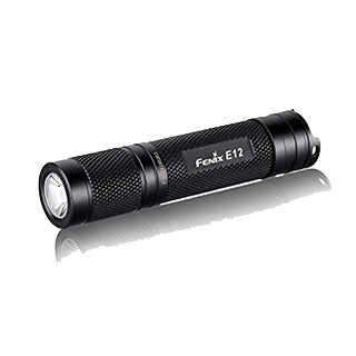 Fenix E12 Flashlight Pocket-Sized bright flashlight 130 Lumens