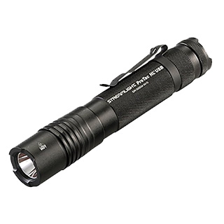 Streamlight 88052 ProTac HL USB 850 Lumen Professional Tactical Flashlight with High/Low/Strobe - 850 Lumens